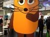Unübersehbar WDR-Land: Die Maus war auch da