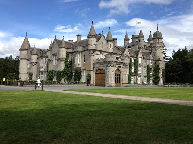 Schottland im Juli 2012: Schloss Balmoral