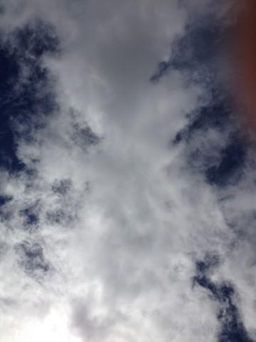 Schottland im Juli 2012: Fluffige Wolken
