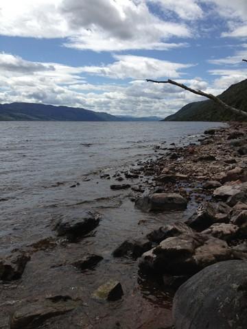 Schottland im Juli 2012: Loch Ness