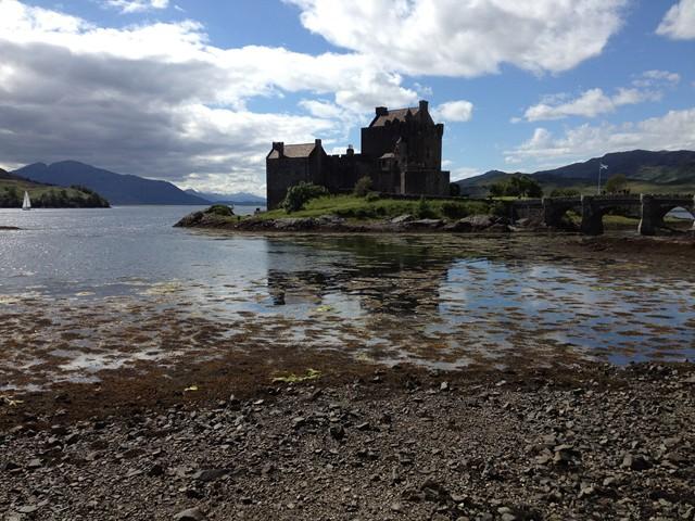 Schottland im Juli 2012: Das Castle