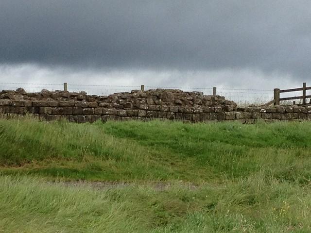 Schottland im Juli 2012: Hadrianwall