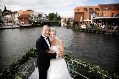 Hochzeitspaar Yacht