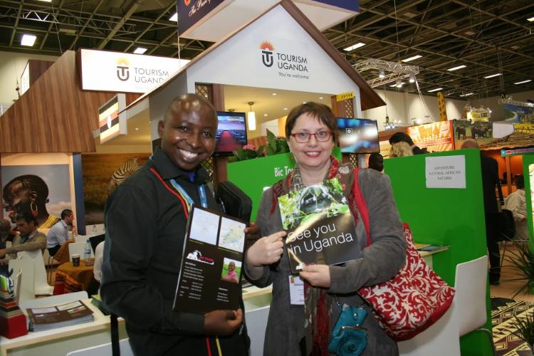 Samuel Mugisha und Doerte Behrmann